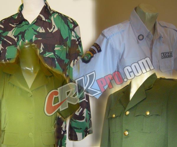 Pakaian Dinas Baju seragam PDH PDL PDU Safari.